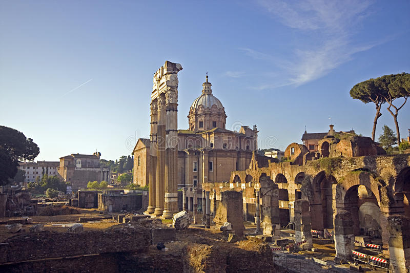 Rome: an image of imperial holes stock photo