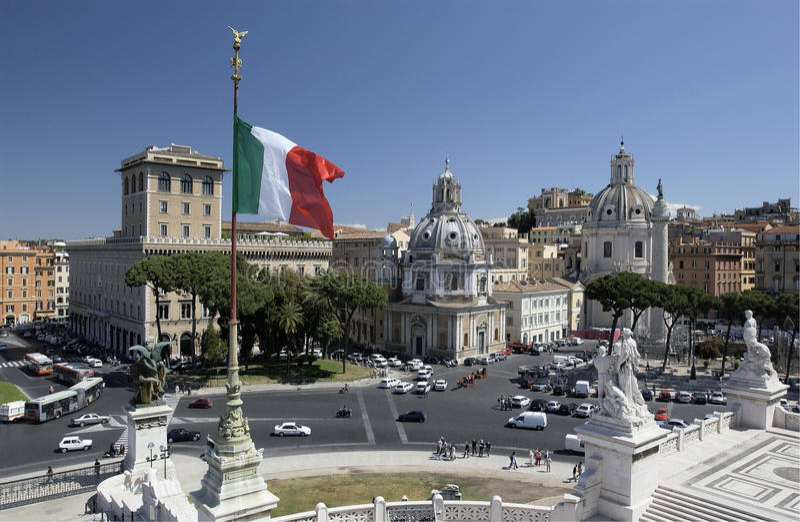 Rome - Italië royalty-vrije stock afbeeldingen