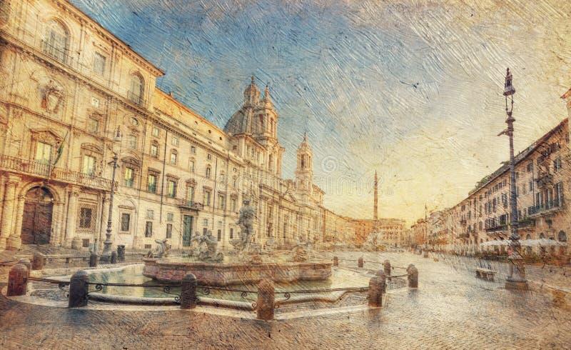 Rome. Italië. royalty-vrije stock foto