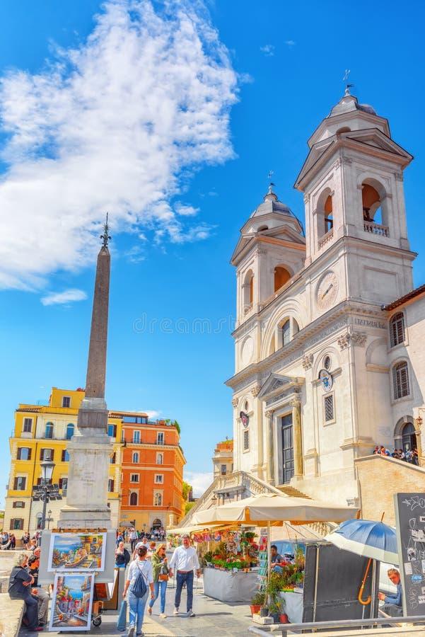 ROME, ITALIË - MEI 08, 2017: Kerk Kloosterbroederschap van Jeru royalty-vrije stock foto's
