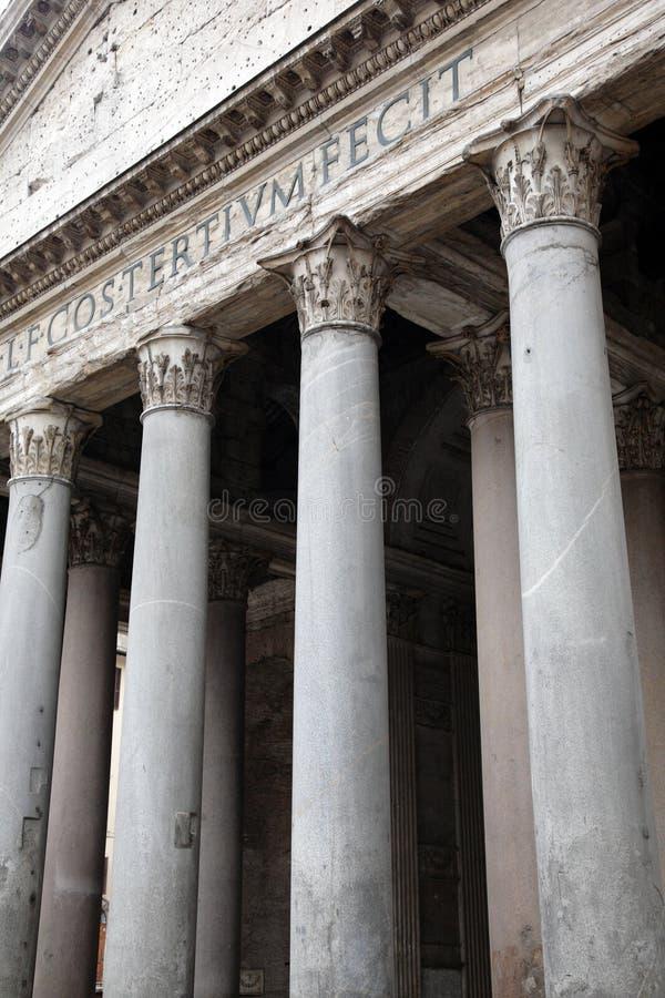 Rome, Italië. Panteon royalty-vrije stock foto