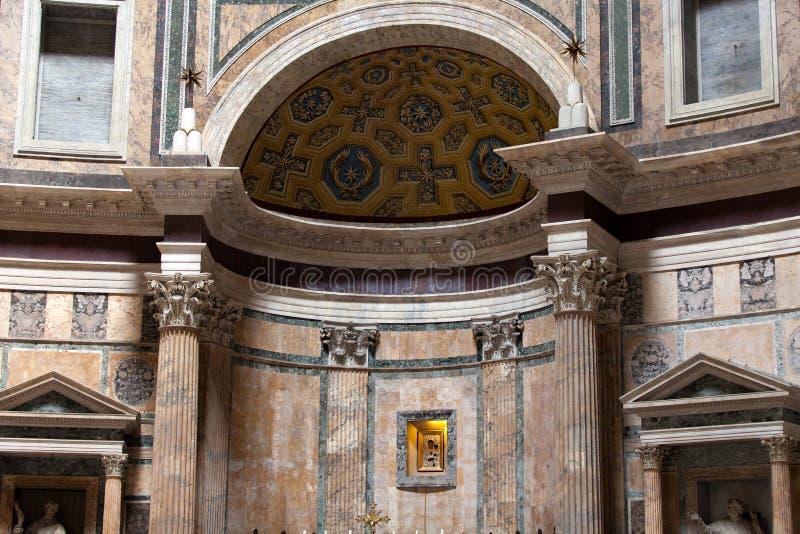 Rome, Italië. Pantheon stock foto