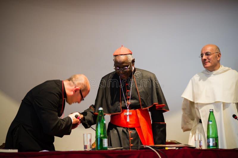 Rome-Italië-7 September-2017-bedevaart voor de tiende verjaardag stock fotografie