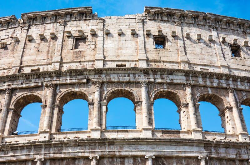 ROME, Italie : Grand Roman Colosseum Coliseum, Colosseo ?galement connu sous le nom de Flavian Amphitheatre Point de rep?re c?l?b image stock