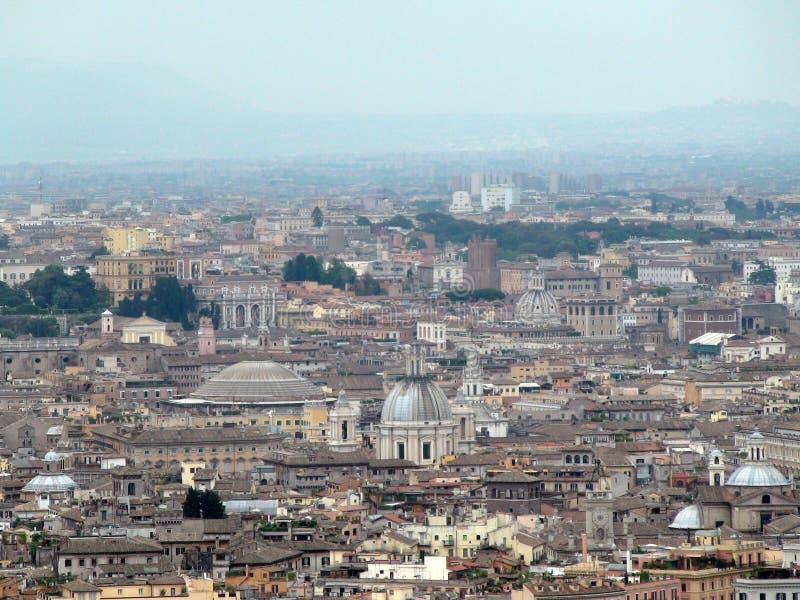 ROME, ITALIE, L'EUROPE, TOITS DES MAISONS image libre de droits