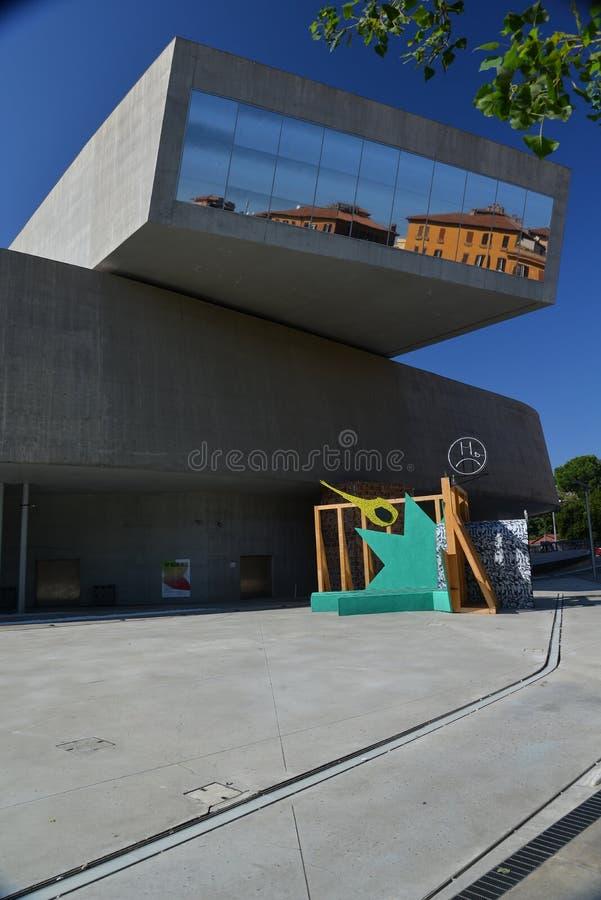 Rome, Italie, musée de Maxxi d'art contemporain photos libres de droits