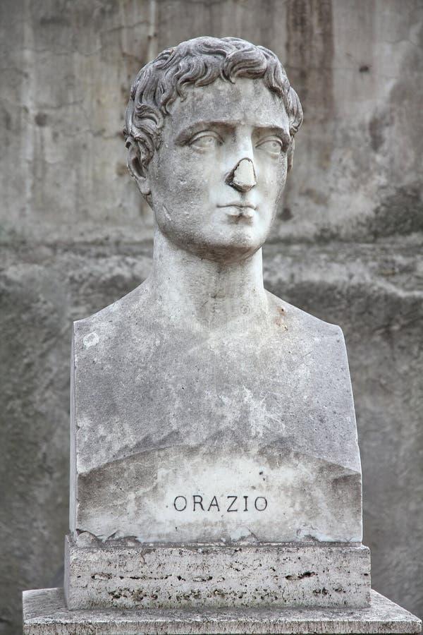 Horace royaltyfri bild