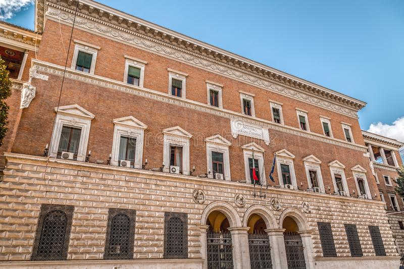 Ministry of Justice in Rome royalty free stock images
