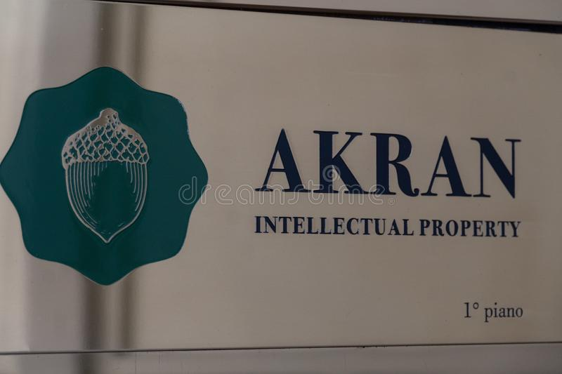 Akran Intellectual Property royalty free stock photos