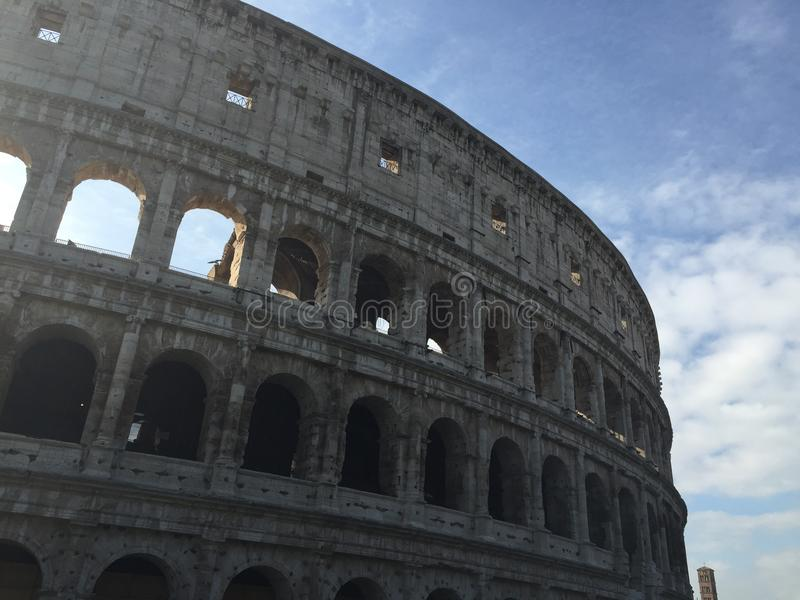 Rome Italy colosseum royalty free stock photo