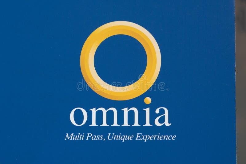 Omnia Multi Pass card sign vector illustration