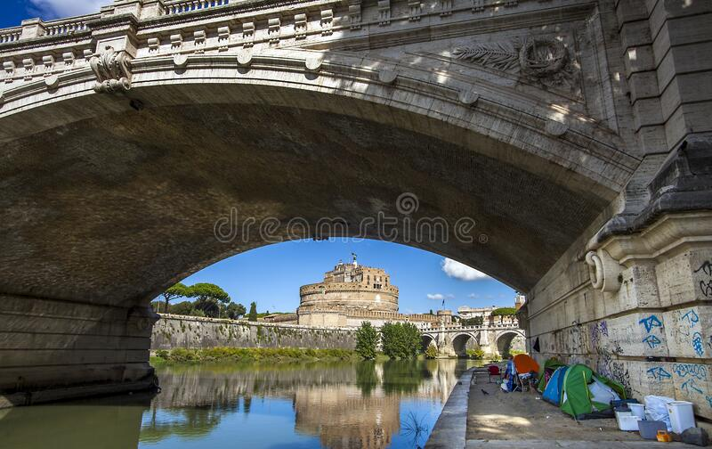 Homeless Under Bridge Stock Photos - Download 149 Royalty Free Photos