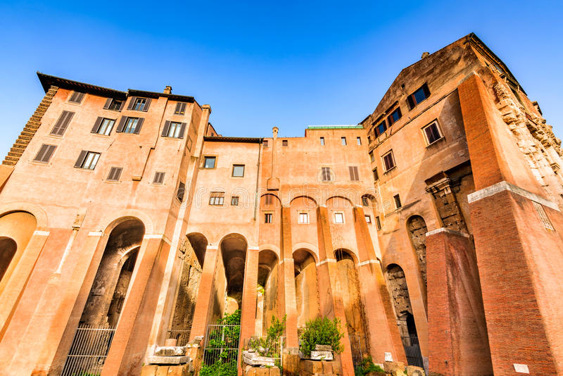 Rome, Italy - Theatre of Marcellus royalty free stock image