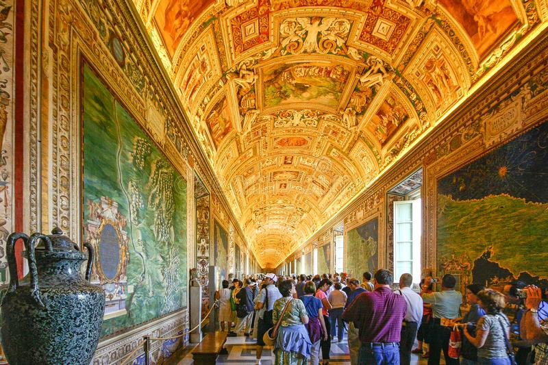 Rome, Italy - Vatican Museum royalty free stock photo