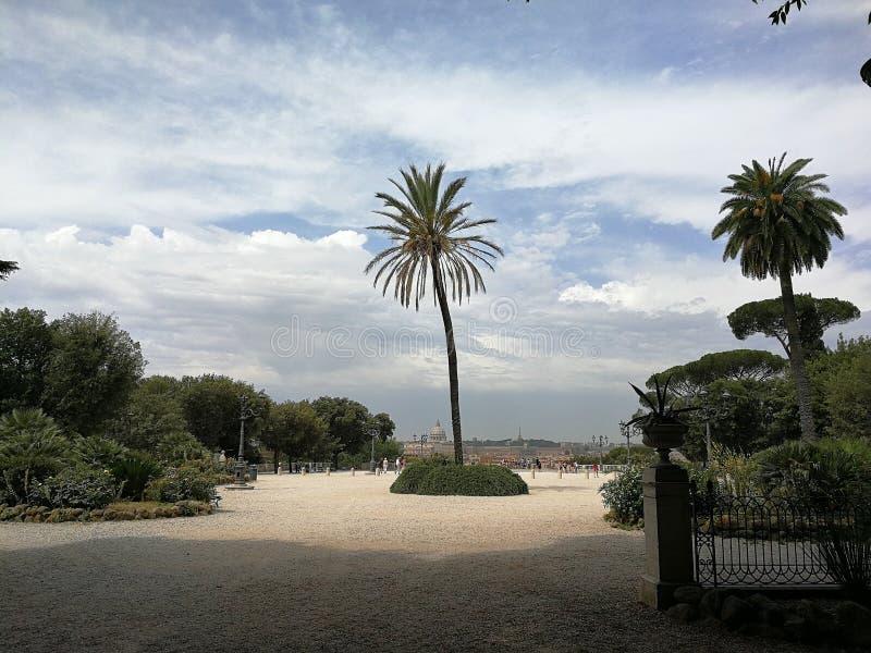 Rome - Terrazza del Pincio stock photo. Image of peter - 95273726
