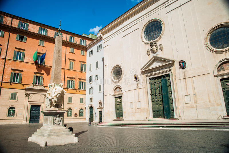Rome - obélisque photos libres de droits
