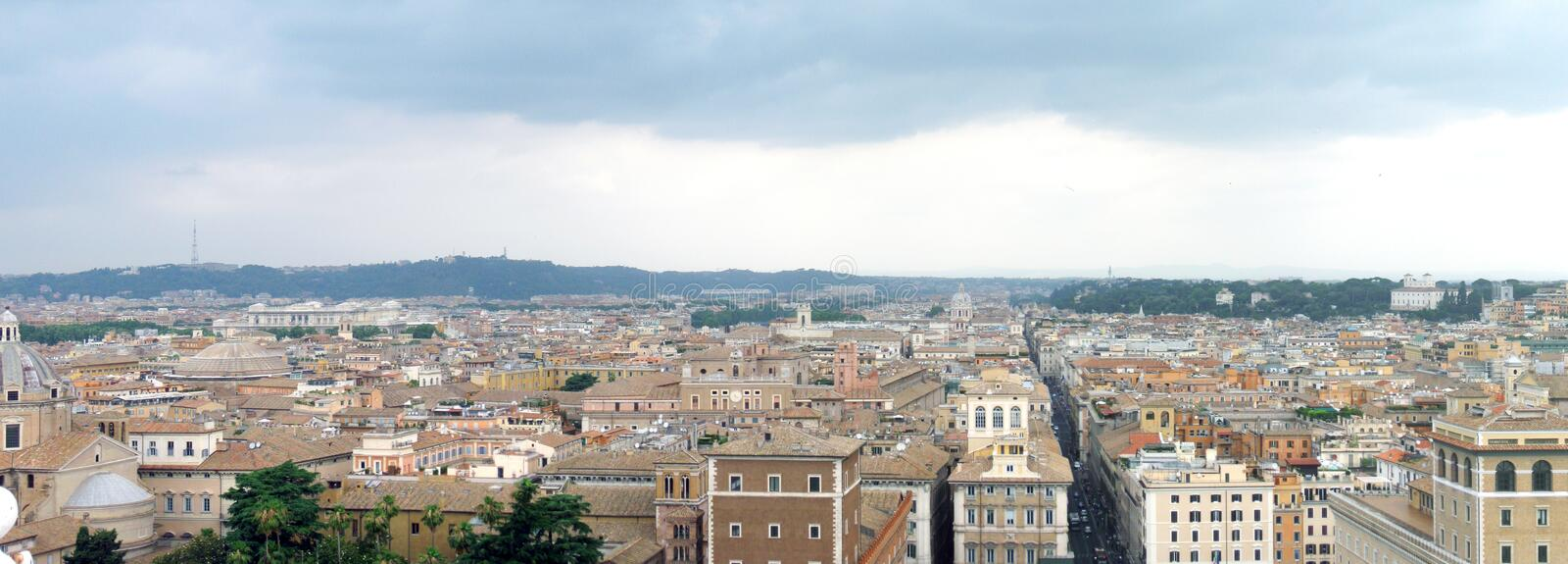 Rome panorama royalty free stock images