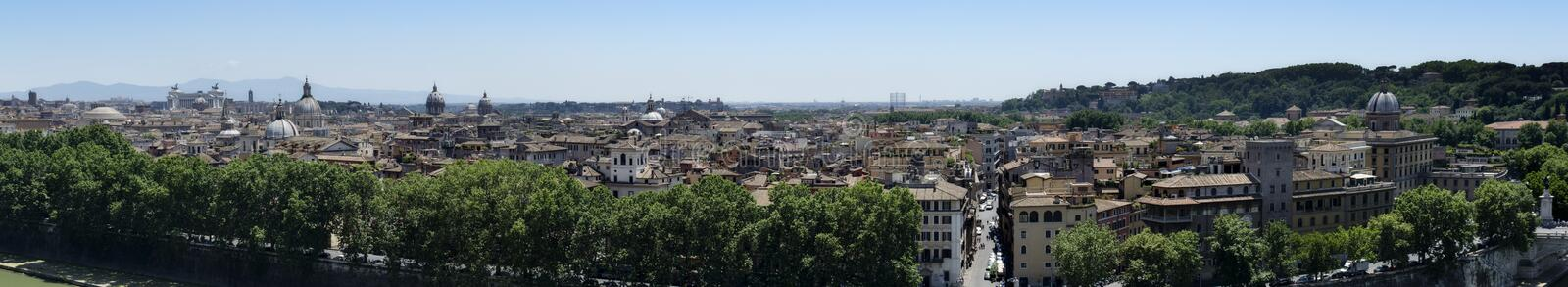Rome Panoramic view royalty free stock images