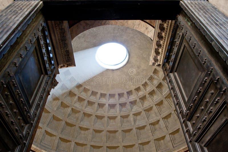 Rome Pantheon royalty free stock photo