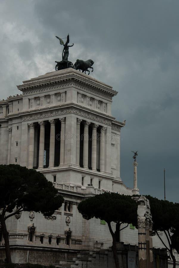 Rome, Piazza Venezia royalty-vrije stock foto's