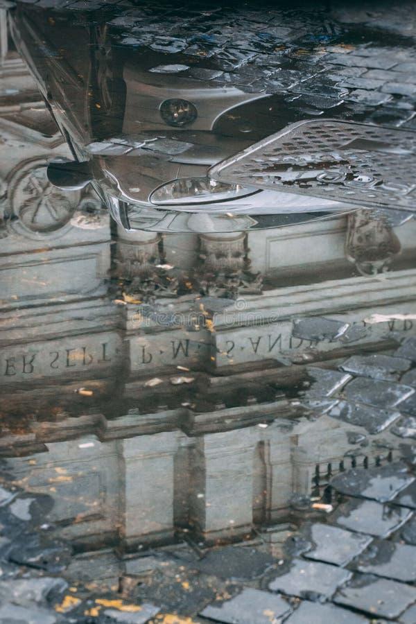 Rome regneftermiddag Lazio, Italien arkivbild