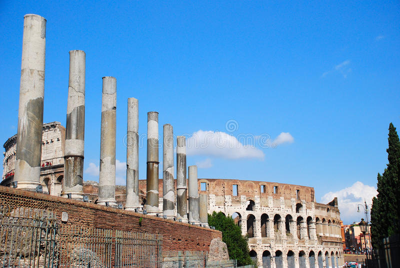 Download Rome (Roman Forum) stock photo. Image of caesar, augustus - 16947336