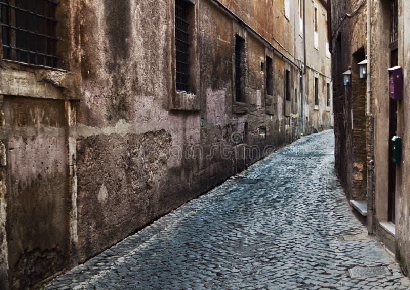 Rome, rues de Trastevere photographie stock libre de droits