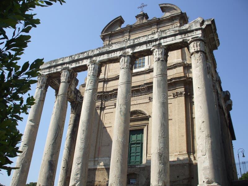 rome ruiny zdjęcie stock