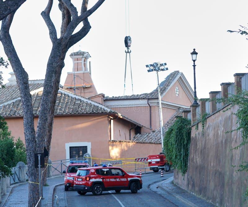 Rome ` s St Joseph van de Timmerlieden` kerk stock afbeelding