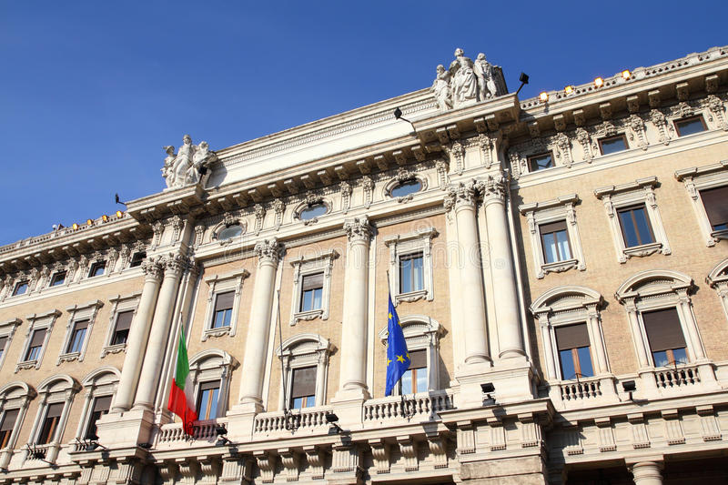 Rome Shopping Gallery Stock Image