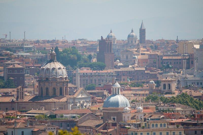 Rome sikt från Gianicolo royaltyfri bild