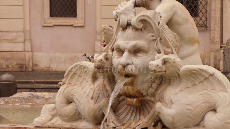 rome skulptur royaltyfria foton