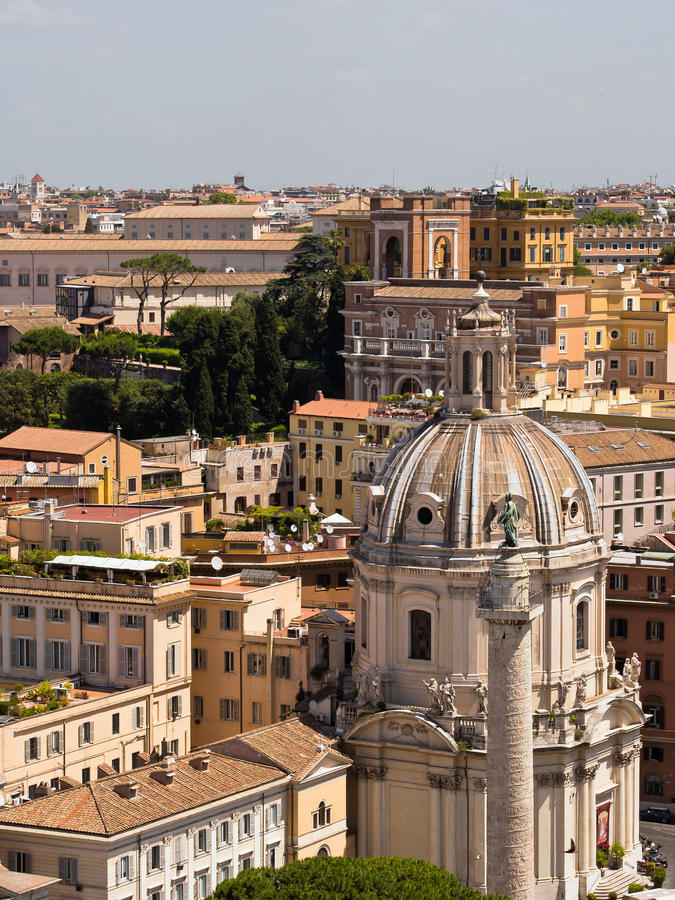 Download Rome Skyline, Italy stock photo. Image of italian, architecture - 26612284