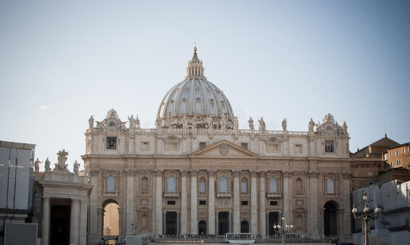 Rome. St. Peter's Basilica stock photos