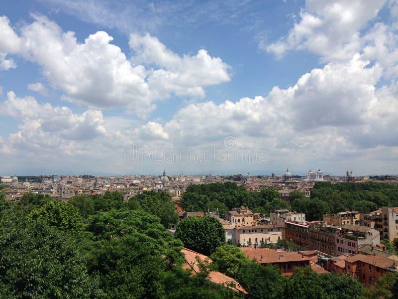Rome stadssikt royaltyfri foto
