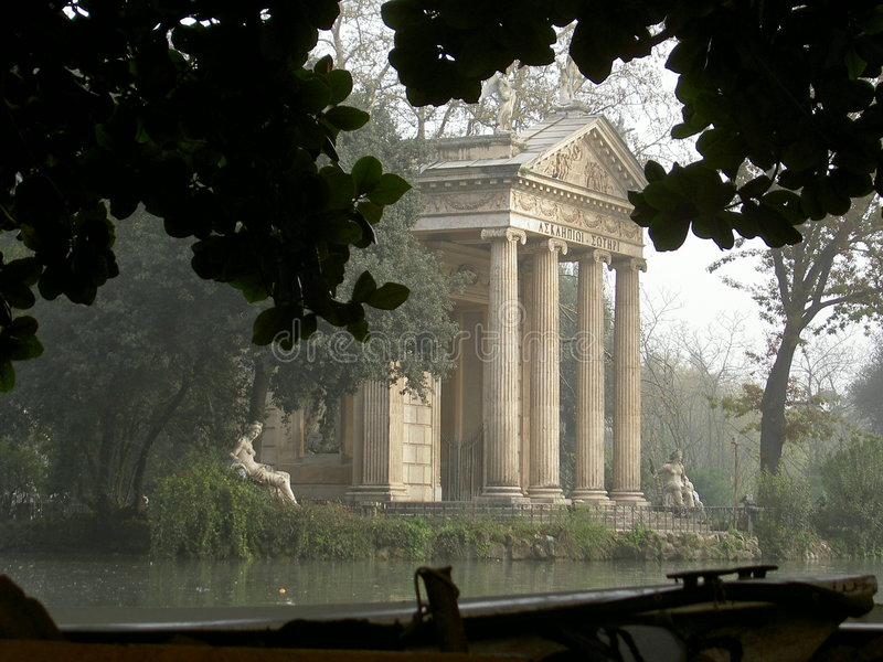 Rome : Stationnement de Borghia images libres de droits