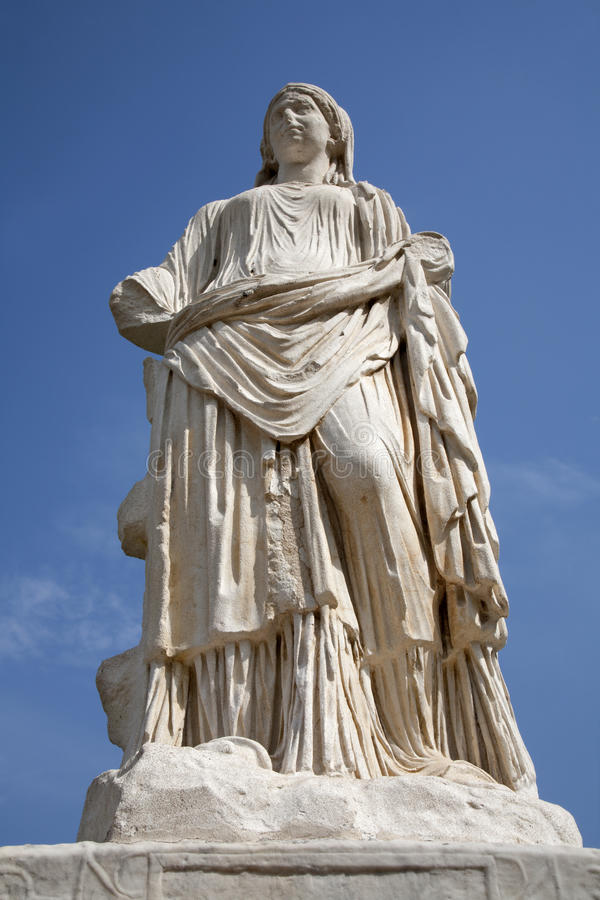 Download Rome - Statue From Atrium Vestae Stock Photo - Image: 24183288