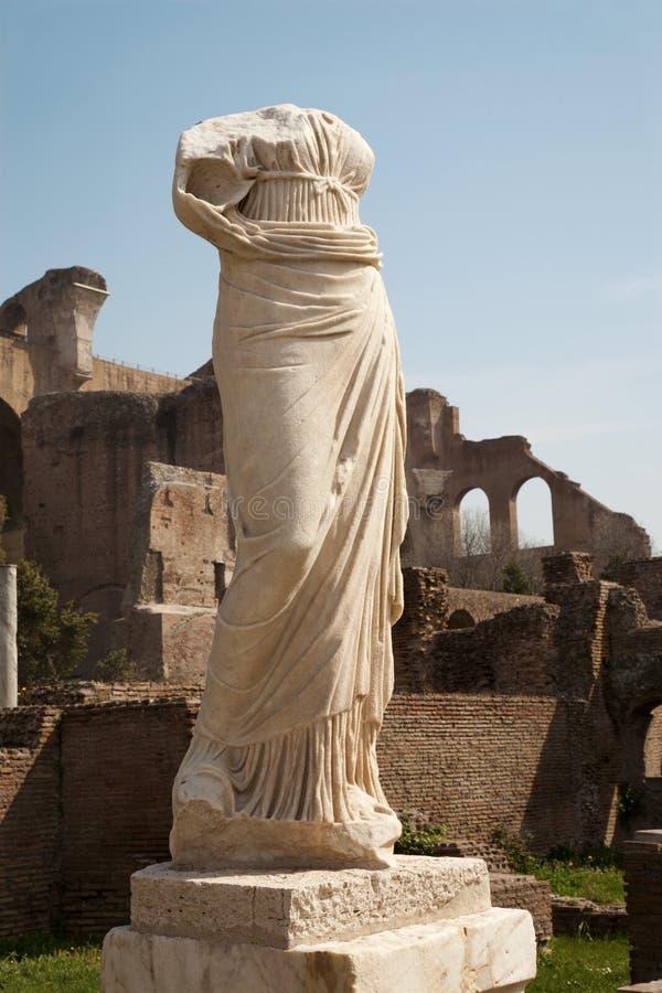 Download Rome - Statue From Atrium Vestae Stock Image - Image of vestae, atrium: 24366841