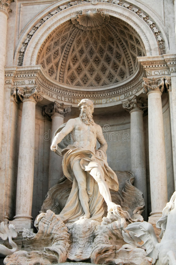 Rome - Trevi fountain royalty free stock image