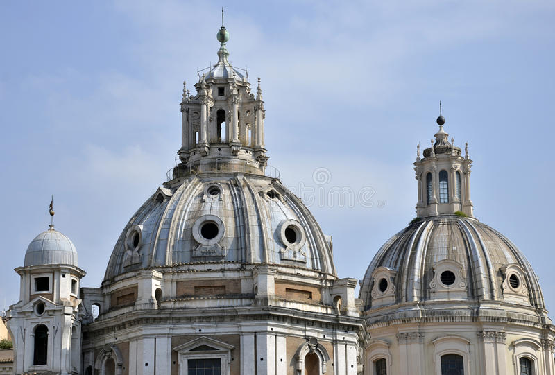 Rome Trio Tower Stock Images