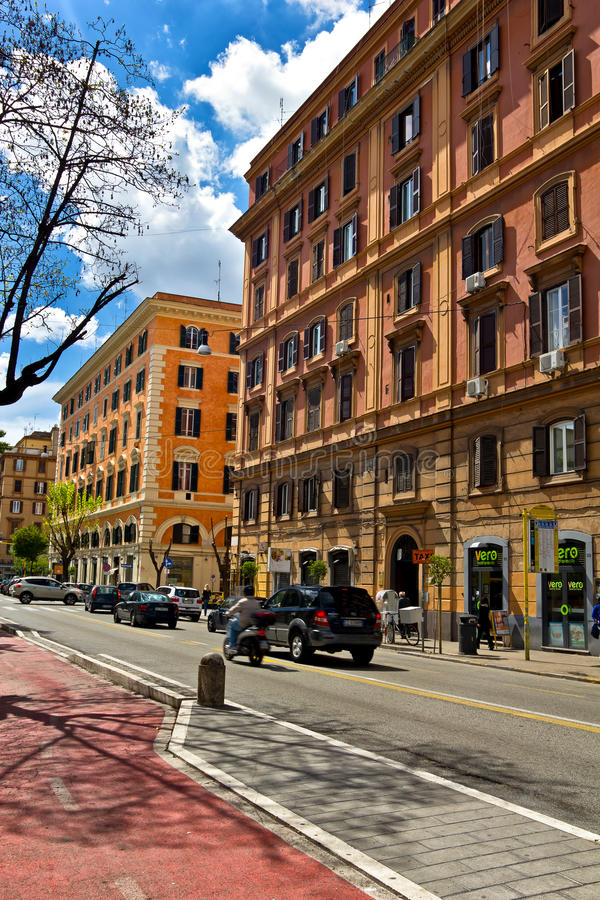 Rome urban scene