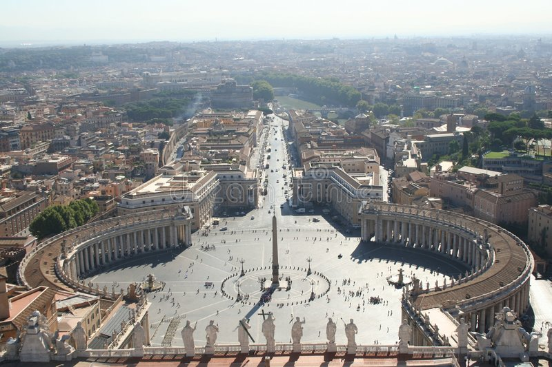 Rome, Vatican royalty free stock image