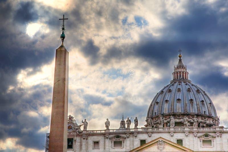 rome vatican royaltyfri fotografi