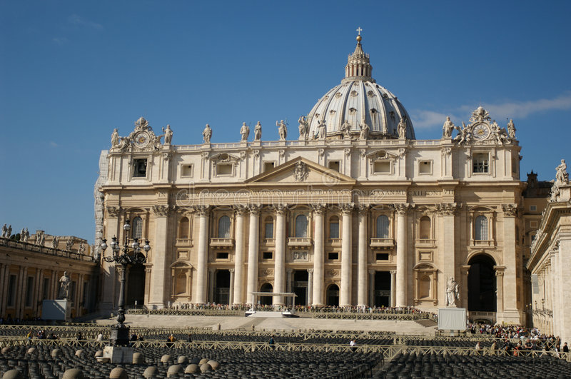 rome vatican royaltyfri foto