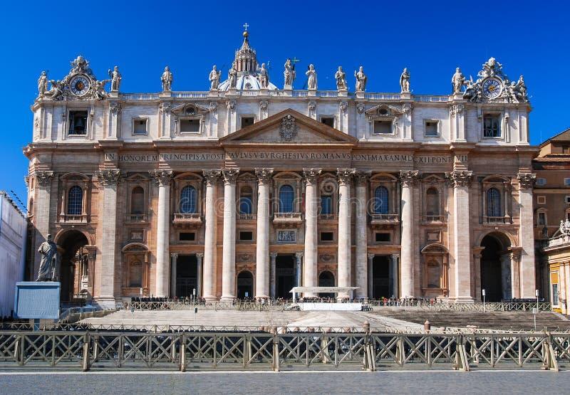 Rome, Vatican, St. Peter Basilica stock images