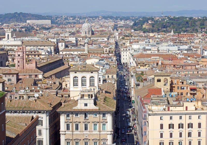 Rome vers le haut de vue photos stock