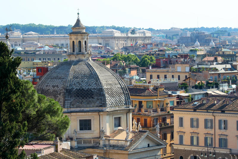 Rome View Royalty Free Stock Photo