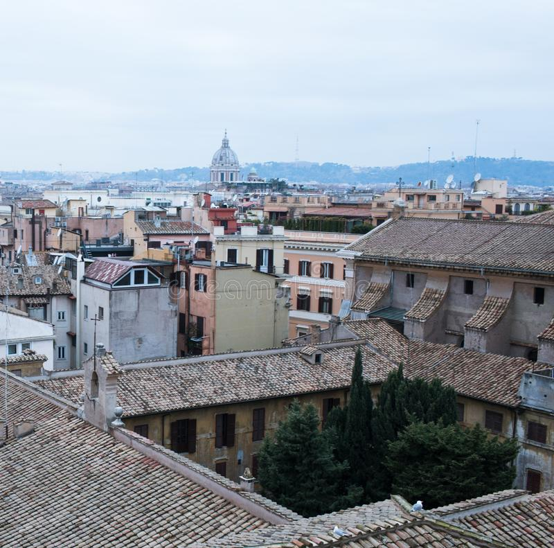 Rome View stock photography