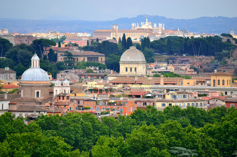 Rome view Italy stock images
