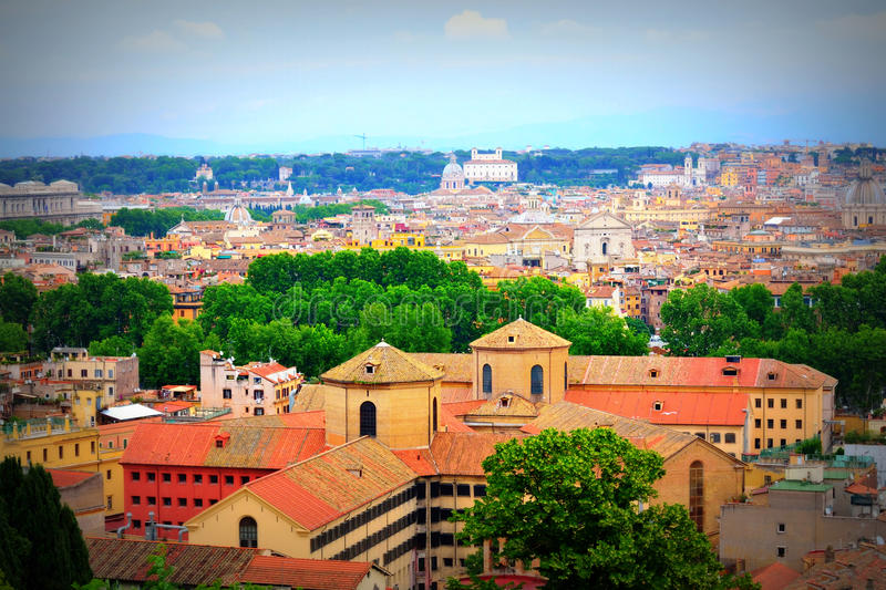 Rome view Italy stock photo. Image of distance, destination - 87548166